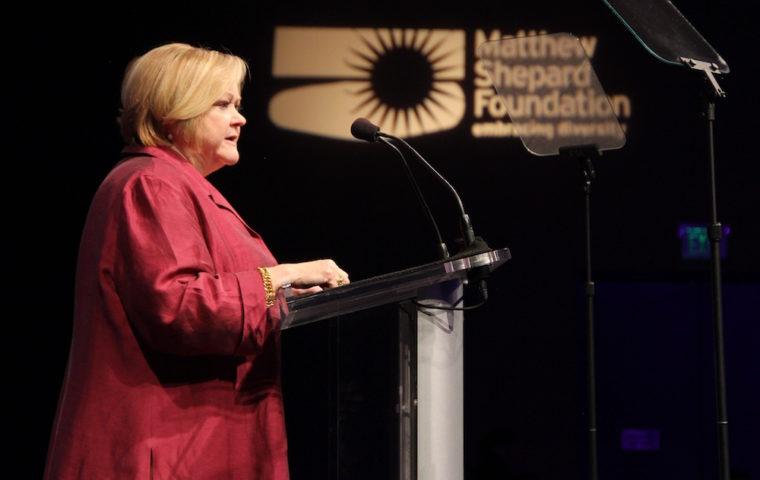 Judy Shepard at MSF Honors 2015